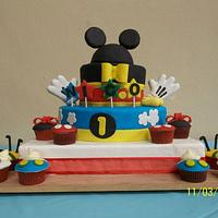 "BAPTISM CAKE ""Mickey Mouse"""