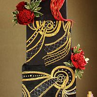 An Unconcious Dream Wedding Cake
