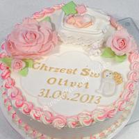 Christning cake by Beata Khoo