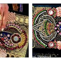 Designer clutch by krishnasinghvi