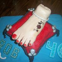 foot cake (: