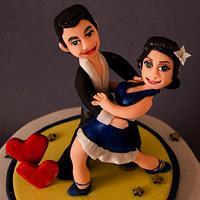 Dance partner to Life partner