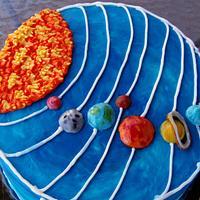 Astronomy BUTTERCREAM designed cake