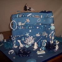 Ariel Wedding Cake