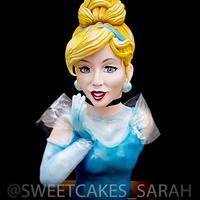 Cinderella bust cake