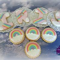 Fondant Decorated Cookies