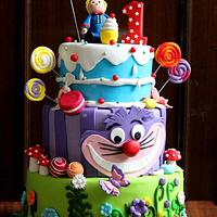 CandyWondenland Cake