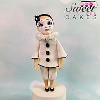 Carnival Cakers Collaboration : little Pierrot