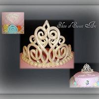 Disney Princess Tiara Cake by Slice of Sweet Art