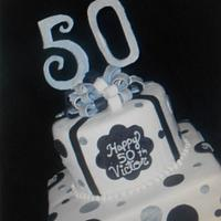 50 th. Birthday Cake