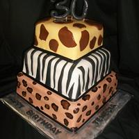 Animal Print 30th Birthday