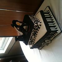 Shoe box cake by Rebecca