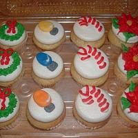 Christmas Cupcakes by Jennifer C.