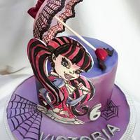 birthday painted Draculaura