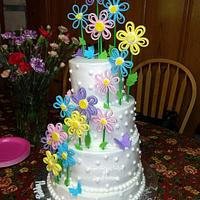 Breezy Blossoms ~ Brittany's 25th Birthday Cake