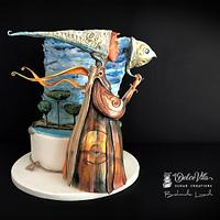 Silent Angel - Italian Sugar Dream - Surrealism Collaboration