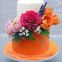Orange cake by Monika