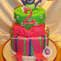 Heidi's Barney Cake