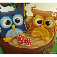 THE LITTLE OWL VIOLINIST
