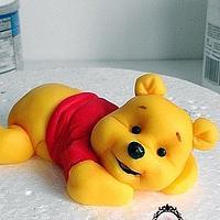 winnie pooh cake topper