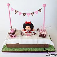 Mafalda by Pirikos, Cake Design