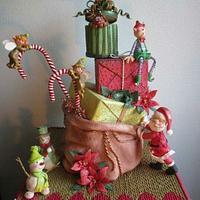 My Christmas cake!
