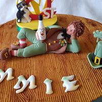 Cable Reel Cake