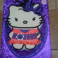 I rock - Hello Kitty Cake