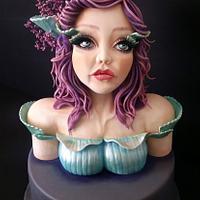 Mermaid Bust