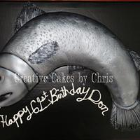 Fish Cake by Creative Cakes by Chris