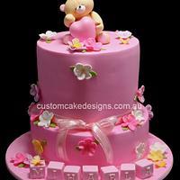 Forever Friends Bear Cake