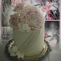 Roses and Peony