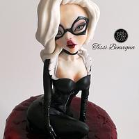 Black Cat - Comic Con Cake Collaboration