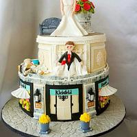 Caker Buddies Collaboration, Theme  Sitcoms : Say yes to the Dress