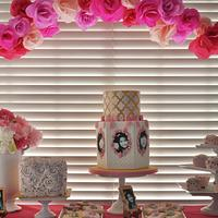 Junior Marie Antoinette 7th Birthday Cake