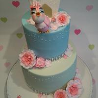 """Tweet"" 16th Birthday Cake"