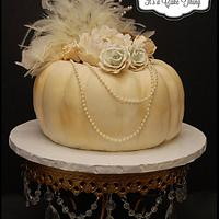 My Vintage Pumpkin Cake!