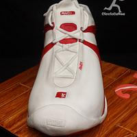 Larger than life AND1 BasketBall Shoe....all edible by Ciccio