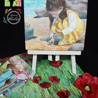 """Colaboración Primavera con arte """"Vladimir Volegov"""" by Victoria Abellán"""