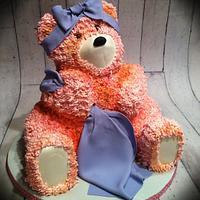 Pink Fuzzy bear