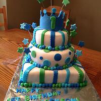 First birthday cake! by Megan
