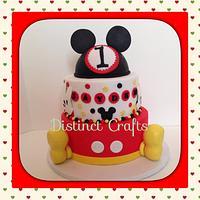 Mickey Mouse Cake inspire in Disney