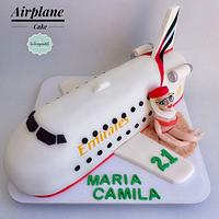 Torta Avión Azafata Medellín