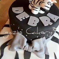 A Zebra for Debra by GazsCakery