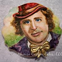Willy Wonka / Gene Wilder tribute cookie