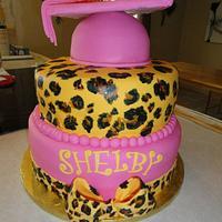 Graduation cake by Charis