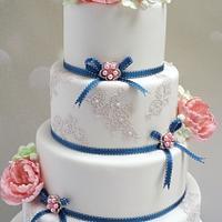 Kelly Wedding Cake