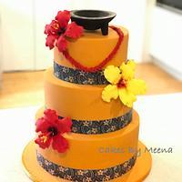 Samoan themed cake