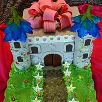 Bluebell Flower Castel