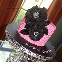 My first Petal Cake by Cakes By Julie